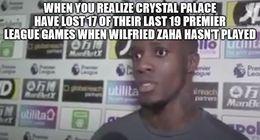Crystal palace funny memes