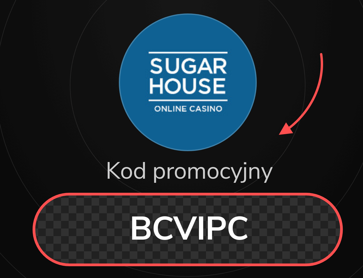 SugarHouse Kod Promocyjny